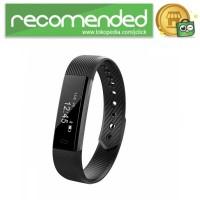 ID 115 Smartwatch Bracelet Fitness Tracker - Hitam