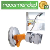 Suction Clamp Holder Shower Mandi - Silver