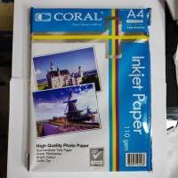 Inkjet Paper 110gsm A4 Coral