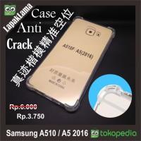 Anti Crack Samsung Galaxy A510 A5 2016 Soft Back Case Casing AntiCrack