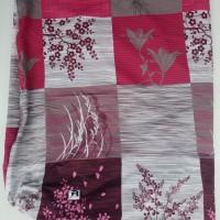 Sarung kasur busa resleting L / Inoac / 160x200x20 / Padi merah/Murah