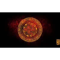 High Precision Gaming Mouse Pad Stitched Edge - model 44