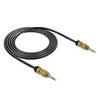 Kabel Audio Aux 3.5mm Gold Plated HiFi 100cm terlaris