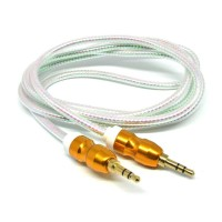 Kabel Audio Aux 3.5mm Gold Plated HiFi 140cm