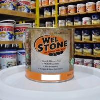 Cat Batu Alam Welstone Black Doff 2.35 Liter