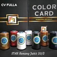 Promo Benang Jahit 20/2 STAR 2.500 yard Kualitas Terjamin dan Ekonomis