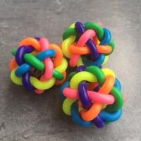 Bola rubber mainan kucing anjing