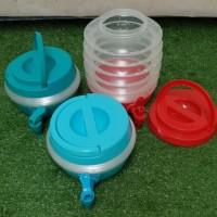 galon / dispenser lipat portable warna 7.5L ourdoor camping