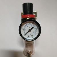 """AIR FILTER Regulator untuk ANGIN with gauge ukuran 1/4"""""""