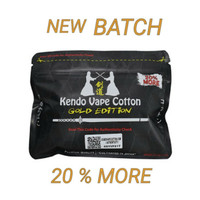 Kendo Vape Cotton Gold edition Authentic new batch 100% Original Bacon