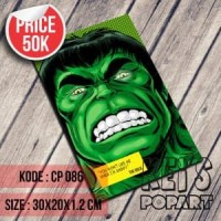 Poster hulk avengers komik versi