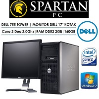 PAKET KOMPUTER UNBK BRANDED DELL | CORE 2 DUO | 17