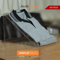 Termurah/ akrilik display baju / Tempat baju akrilik