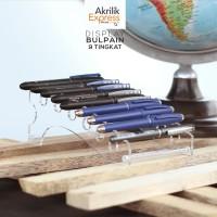 Display ballpoint / Display pulpen akrilik / Tempat pulpen