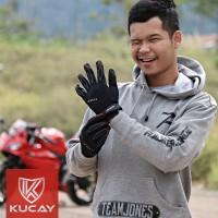 Kucay Gloves Tour Max / Sarung tangan motor kucay tour max