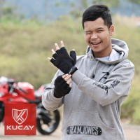 Kucay Gloves Tactical half / sarung tangan motor kucay tactical half