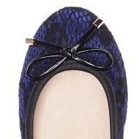 Gcj Sepatu Flat Shoes Wanita Butterfly Twists Sasha Midnight