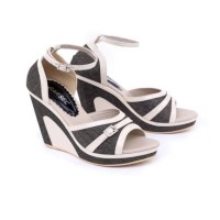 Harga sandal pesta wanita premium gf 36 wedges branded harga murah | Pembandingharga.com