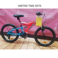 SEPEDA UNITED TMS 3070 MTB 20 INCH 7 SPEED