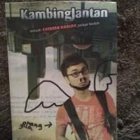 Novel Komedi Raditya Dika Kambing Jantan