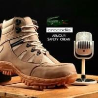 Sepatu Safety - Crocodile - Boots - Homemade Lokal