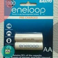 Baterai Isi Ulang Sanyo Eneloop AA - A2 2000mAh Isi 2Pcs