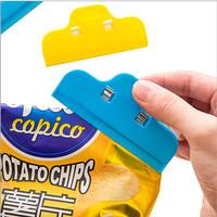 Jepitan Kantong Plastik Makanan Snack Sealer Food Klip Jepitan Selimut