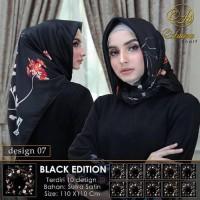 Dijual Hijab Segi Empat Satin Adeeva Untuk Kondangan