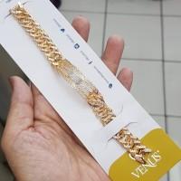 GELANG RANTAI BARU UBS GOLD EMAS KUNING KADAR 700 MURAH