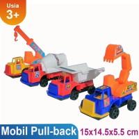 Buy 1 Get 1 Free Truk Konstruksi Mainan Anak OCT6334&6 Pull Back