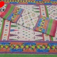 Songket Panca Warna Tenun Palembang Medan Ulos Batak Multi Color Batik
