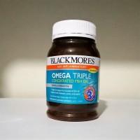 Jual HARGA SPECIAL-Blackmores Omega Triple Concentrated Fish Oil 150caps Murah