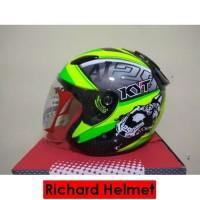 (Richard Helmet) Helm KYT DJ Maru World GP SE Xavier Simone