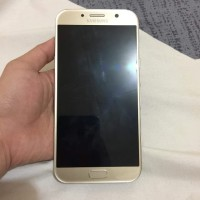 second Samsung A7 2017 GOLD