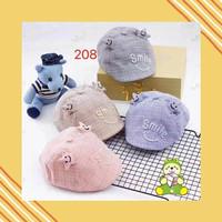 Topi Anak Bayi Lucu Unik Baret Smile