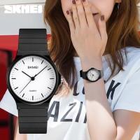 Jam Tangan Wanita Analog Simple SKMEI 1419 Original Anti Air - Putih