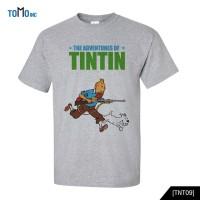 Tintin Kaos Movie Original Gildan