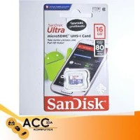 MS/TF SANDISK ULTRA 16GB CLASS 10 80MBPS