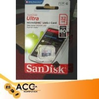 MS/TF SANDISK ULTRA 32GB CLASS 10 80MBPS