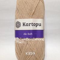 Kartopu Ak-Soft K859 - Benang Rajut Import
