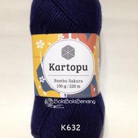Kartopu Bambu Sakura K632 - Benang Rajut Import