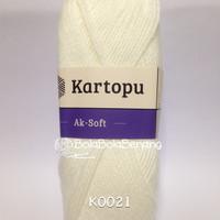Kartopu Ak-Soft K0021 - Benang Rajut Import