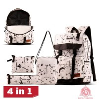 Tas Ransel Wanita Backpack 4 in 1 Original CATENAR CCP 28