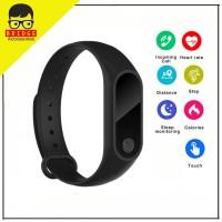 M2 Smartwatch - Smart Watch M2 Sport Band Smartband Heart Rate - Murah