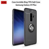 Case Autofocus Invisible Iring Samsung S9+ S9 Plus Soft Case