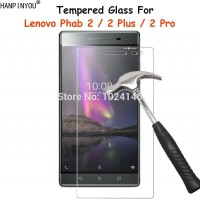 "For Lenovo Phab2 Phab 2 Plus Pro 6.4"" Tempered Glass Screen Prote"