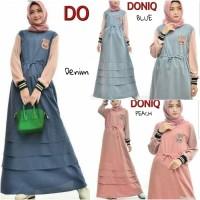 Gamis sehari hari Casual dress Baju hijaber murah Doniq Dress 12