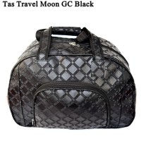 Tas Kulit Travel Kulit MOON GC BLACK