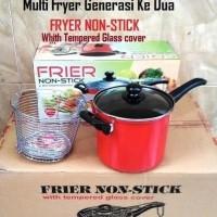 Multi Fryer Generasi 2 / Frier Non-Stick Maspion Panci Penggorengan