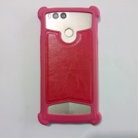 Anti Crack Advan i5C Duo Soft Case Anti Crack Kompatibel Merah